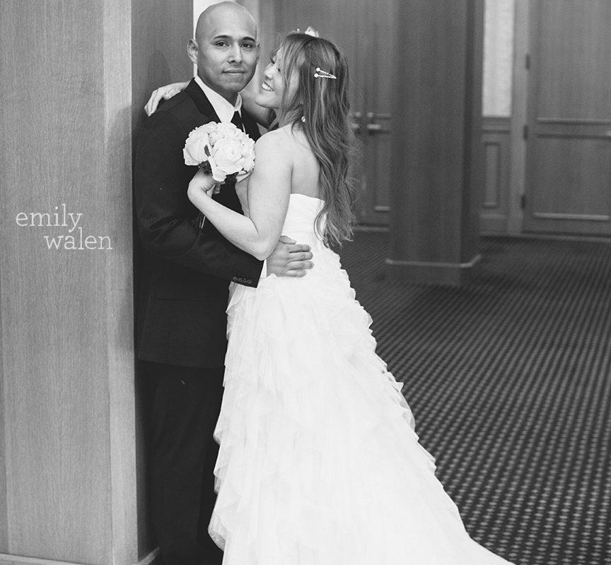 Tracie + Raul ... married downtown Saint Paul, Minnesota at City Hall